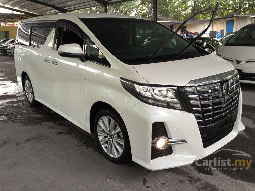 2015 Toyota Alphard G MPV