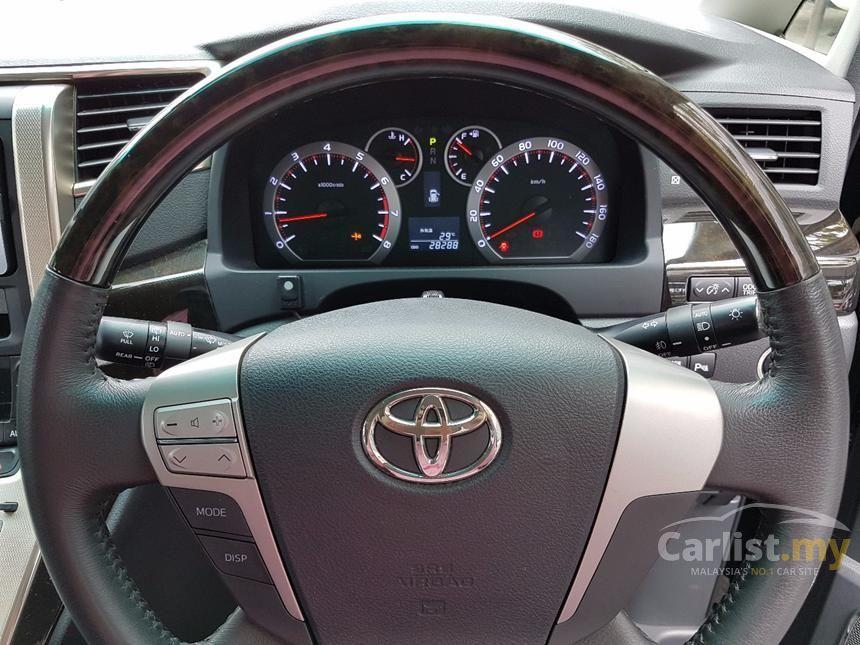 2011 Toyota Alphard G MPV