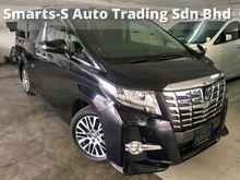 2015 TOYOTA ALPHARD 2.5 (A) SC EDITION (MEMORY ELECTRIC PILOT SEATS) (SUNROOF) (DEMO UNIT) (TIP TOP CONDITION) UNREG 2015