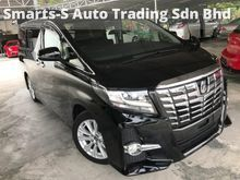 2015 TOYOTA ALPHARD 2.5 S EDITION (GRADE A CAR) (SUNROOF) (JBL SOUND SYSTEM) (HIGH SPEC) (CHEAPEST IN TOWN) UNREG 2015