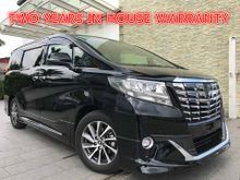 2015 TOYOTA ALPHARD 3.5 EXECUTIVE LOUNGE LATEST ENGINE - JBL SOUND SYSTEM - HOME THEATER WITH 17 SPEAKERS SURROUND SOUND SYSTEM - 4 SURROUND CAMERAS