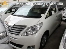 2013 Toyota Alphard 2.4 X 8 Seaters GST INCLUSIVE PRICE 1 YEAR WARRANTY