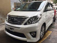 2013 Toyota Alphard 2.4 SC SUNROOF THEATER PLAYER