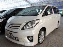 2012 Toyota Alphard 2.4 (A) UNREG
