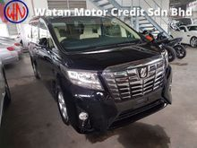 2015 Toyota Alphard 2.5 X 8 SEAT NEW MODEL (ACTUAL YEAR MAKE 2015)