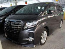 2015 Toyota Alphard 2.4 (A) UNREG