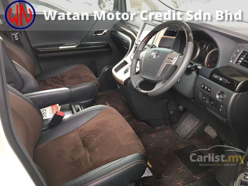 2014 Toyota Alphard G MPV