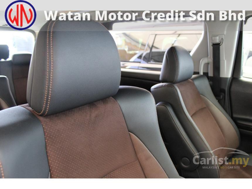 2012 Toyota Alphard G MPV