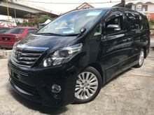 2012 Toyota Alphard 2.4 SC PILOT SEAT POWER BOOT FULL UNREG RECON