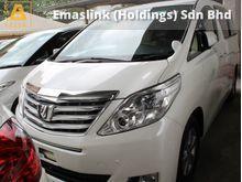 2012 Toyota Alphard 2.4 G  (a) --RECOND
