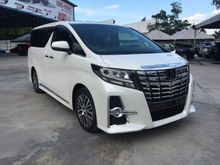 2016 Toyota Alphard 2.5 SC FULL ALPINE PLAYER
