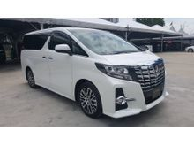 2016 Toyota Alphard 2.5 SC PILOT SUNROOF