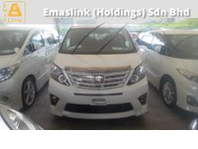 2014 Toyota Alphard 2.4 TPYER GOLD POWER BOOT CAMERA 2014 UNREG