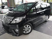 2012 Toyota Alphard 2.4 SC Pilot Seats Sunroof Monitor Hot And Cold Box