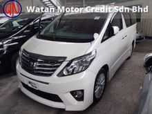 2013 Toyota Alphard 2.4 S-SPEC FACELIFT (ACTUAL YEAR MAKE 2013)