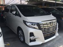 2015 Toyota Alphard 2.5 G MPV [SA SPEC] INC GST. JBL Speakers. Sunroof. Reverse Cam. UNREG Yr 2015. Showroom Condition Brand New. PROMO PRICE CALL NOW