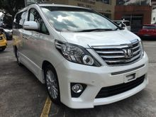 2012 Toyota Alphard 2.4 S-Edition SUNROOF ALPINE MONITOR
