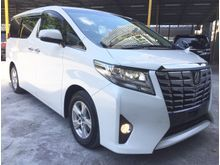 2015 Toyota Alphard 2.5 X - 8 SEATER - BEIGE INTERIOR - VERY GOOD CONDITION
