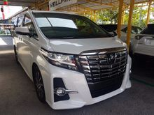 2015 Toyota Alphard 2.5 SC MPV DEMO UNIT