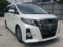 2016 Toyota Alphard 2.5L SC FULL SPEC NEW CAR