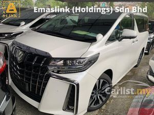 2019 Toyota Alphard 2.5 SC New Facelift 5k Mil Grade AAAAAA Car Leather Pilot Seat Twin Sunroof BSM DIM 3LED Sequential Signal Many Unit Available