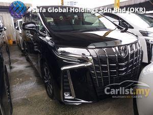 2018 Toyota Alphard 2.5  SC NEW FACELIFT ROOF TV FRONT CAMERA UNREG18