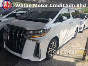 2019 Toyota Alphard 2.5 SC Grade 6A Sequential 3 LED Headlamp Digital Inner Mirror Sun Roof Full Leather Pilot Seat Blind Spot PCS LTA RSC Unreg