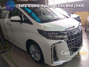2019 Toyota Alphard 2.5 SA SUNROOF BIG SCREEN MONITOR UNREG19
