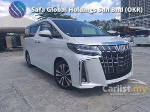 2018 Toyota Alphard 2.5  SC SUNROOF PRE CRASH SYSTEM LEATHER SEAT UNREG18