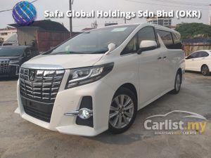 2015 Toyota Alphard 2.5 G SA SUNROOF ROOF TV 7 SEATER UNREG15