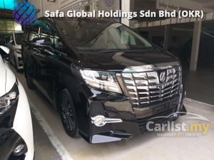 2016 Toyota Alphard 2.5 S 7 SEATER ROOF MONITOR TIP TOP CONDITION UNREG16