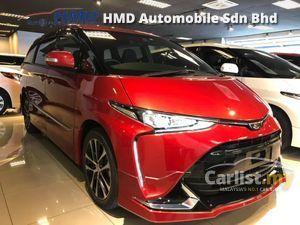 2016 Toyota Estima 2.4 Aeras 7 Seater - Unreg - TAX HOLIDAY - JapaN Toyota Certified Cars - Modellista Aero Kit - Pre Crash