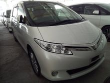 2012 TOYOTA ESTIMA G SPEC UNREG . LOCAL AP . FREE ONE YEAR WARRANTY . POWER BOOT . FULL LEATHER . PANORAMIC ROOF .ELECTRIC SEAT .