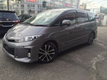 2012 Toyota Estima 2.4 AERAS NEW FACELIFT UNREG-GST INCLUSIVE-ONE YEAR WARRANTY-STOCK CLEARANCE