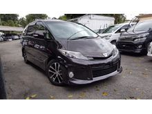 2013 Toyota Estima 2.4 Aeras MPV NFL Panoramic Roof 7S Black Interior Unreg