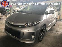 Toyota Estima 2.4 AERAS FACELIFT ACTUAL YR 2013 8 SEATER,2 POWER DOORS,FRONT BACK CAMERA,AUTO, JAPAN UNREG FREE GMR WARRANTY