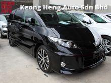 2013 Toyota Estima 2.4 (A) NEW FACELIFT  8 SEATER REVERSE CAMERA 2 POWER DOOR  18 RIM