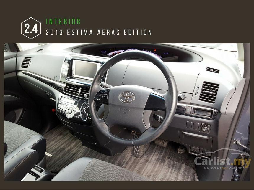 2013 Toyota Estima Aeras MPV