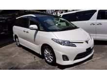 2012 Toyota Estima 2.4 Aeras MPV 7 Seaters 2 Power Door Cream Interior Panoramic Roof Unreg