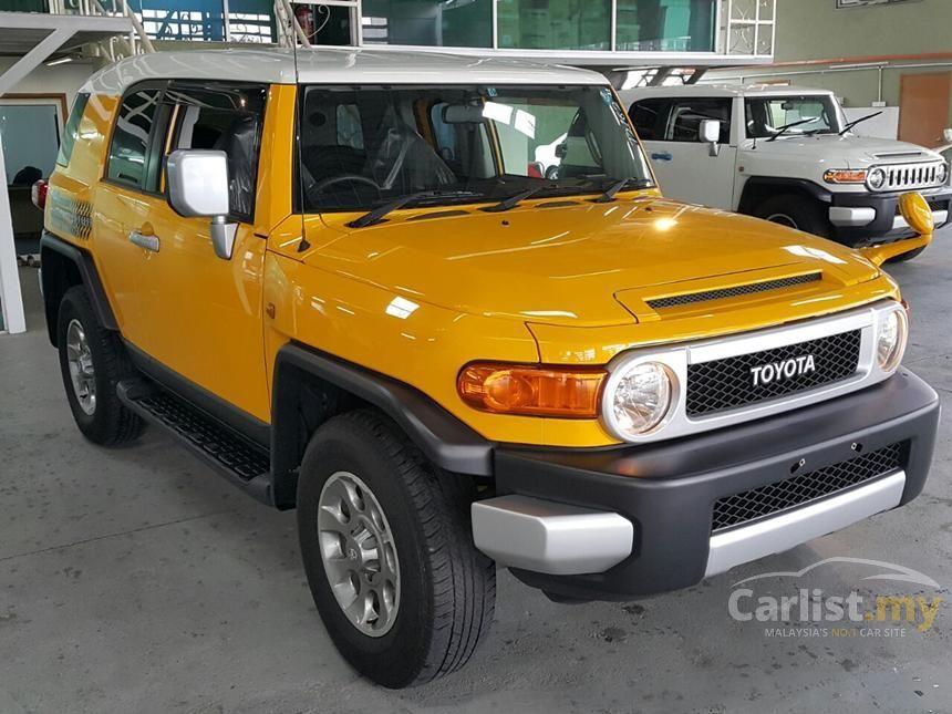 Toyota Fj Cruiser In Kuala Lumpur Automatic Suv Yellow