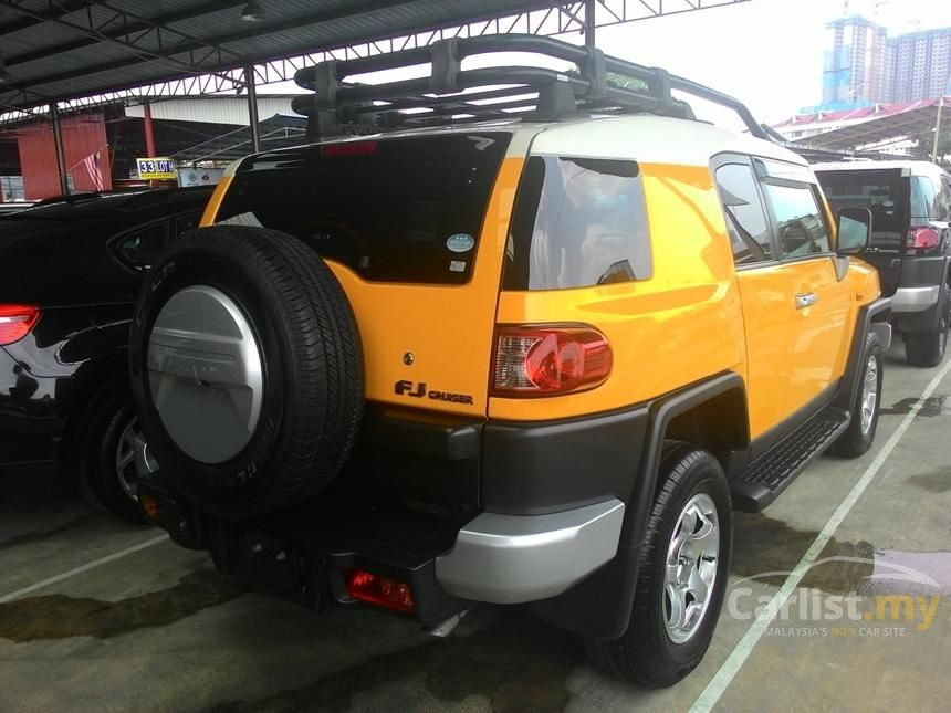Toyota Fj Cruiser In Negeri Sembilan Automatic Suv Yellow