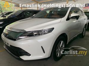 2017 Toyota Harrier 2.0 Facelift Unregister Panoramic Roof Brown Interior Android Player 360 3D Surround Camera PCS LTA 3Yr Warranty 5A Car 18K Mils
