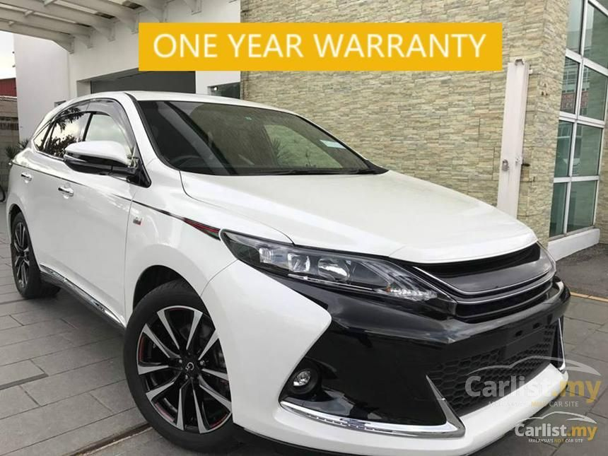 Toyota Harrier 2015 2 0 In Selangor Automatic Wagon White