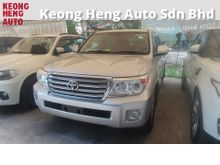 2012 Toyota Land Cruiser 4.6 ZX (A) Recon SUNROOF REVERSE CAMERA  HOME THEATER SURROUND SOUND SYSTEM CLIMATE AIRCOND CONTROL 1 YEAR GMR WARRANTY