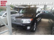 2012 Toyota Land Cruiser 4.6 ZX (A) Recon SUNROOF REVERSE CAMERA  POWER BOOT ADJUSTABLE SIDE MIRROR CLIMATE AIRCOND CONTROL 1 YEAR GMR WARRANTY