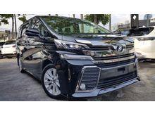 2015 Toyota Vellfire 2.5 2.5 ZA Van ZA EDITION 7S 2PDR  BKITS BACK CAMERA