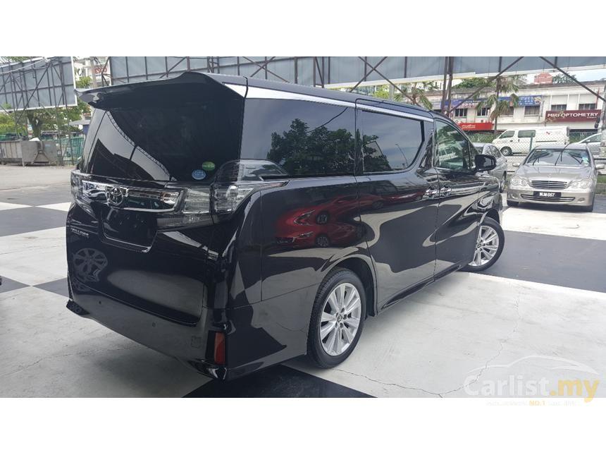 2015 Toyota Vellfire 2.5 ZA Van