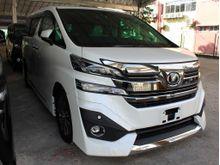 2015 Toyota Vellfire 3.5 Executive Lounge (A) UNREG