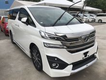 2016 Toyota Vellfire 3.5L VL Japan New Car