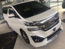 2016 Toyota Vellfire 3.5 V6 VL Edition Full Specs UNREG